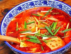 红汤素火锅米线